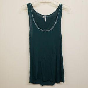 Like New! Emerald Green Dressy Tank